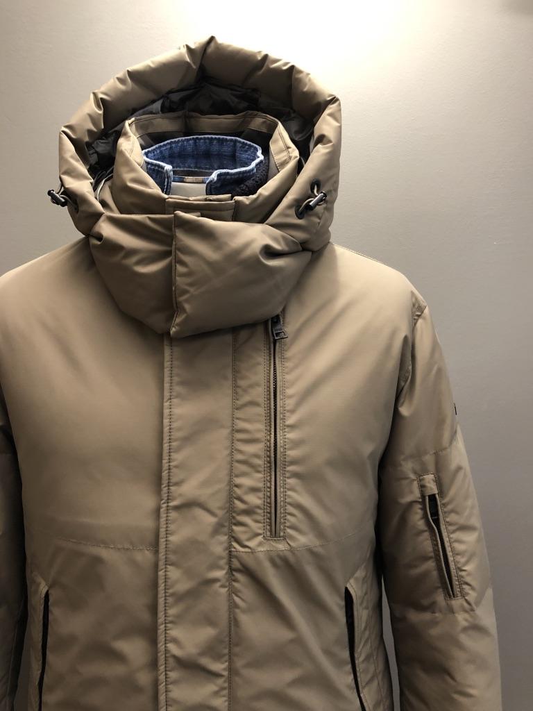 DUNO Long Jacket Tortora
