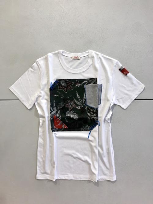 bob_t-shirt_patchwork_foglie