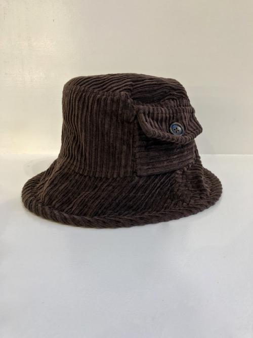 capalbio_cappello_uomo_velluto_coste_marrone