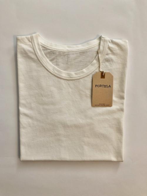 fortela_t-shirt_bianca_girocollo